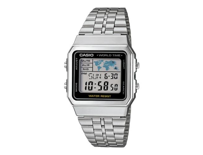 A Retro Digital World Time Watch