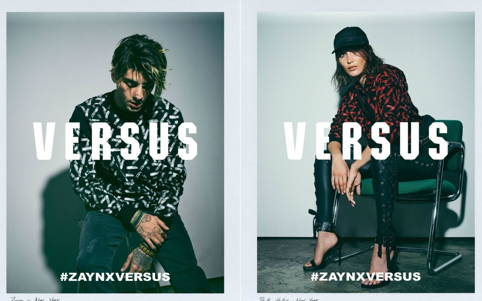 Zayn Launches Versus Versace Collection