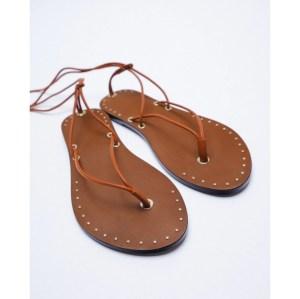 zara low strappy sandals, best women's sandals