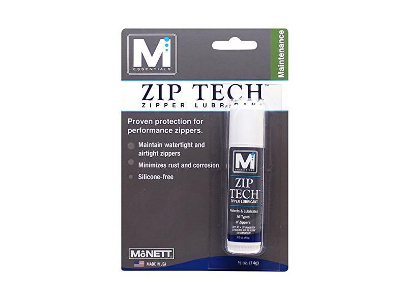 Zipper lubricant