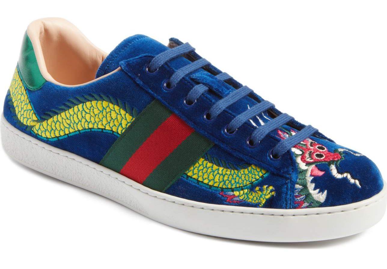New Ace Dragon Sneaker gucci