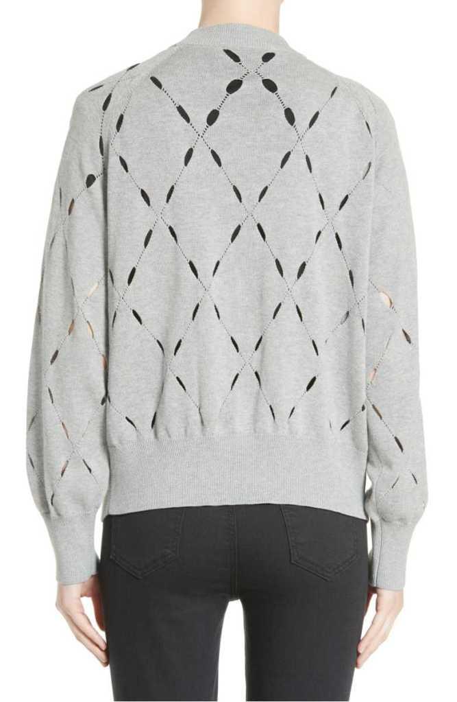 argyle sweater t by alexander wang