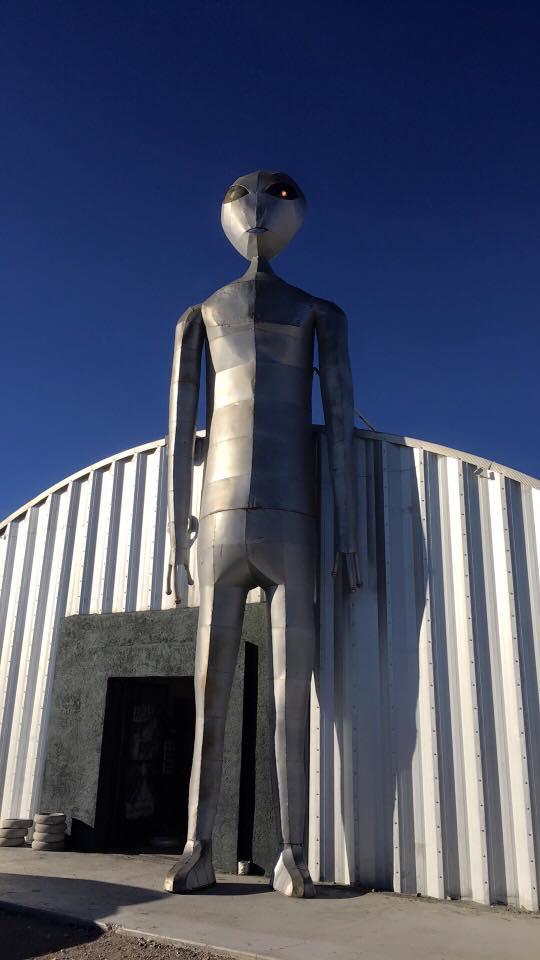 Alien Research Center Highway 375
