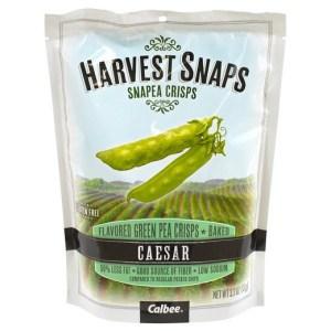 snapea crisps harvest snaps