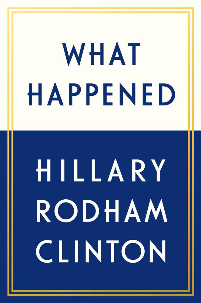 hillary clinton book what happened