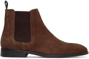Men's Brown Suede chelsea Boots