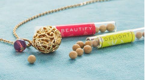 Lisa Hoffman Fragrance Necklace