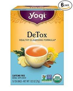 detox tea Yogi