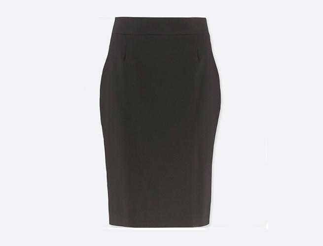 Uniqlo women Stretch Pencil Skirt