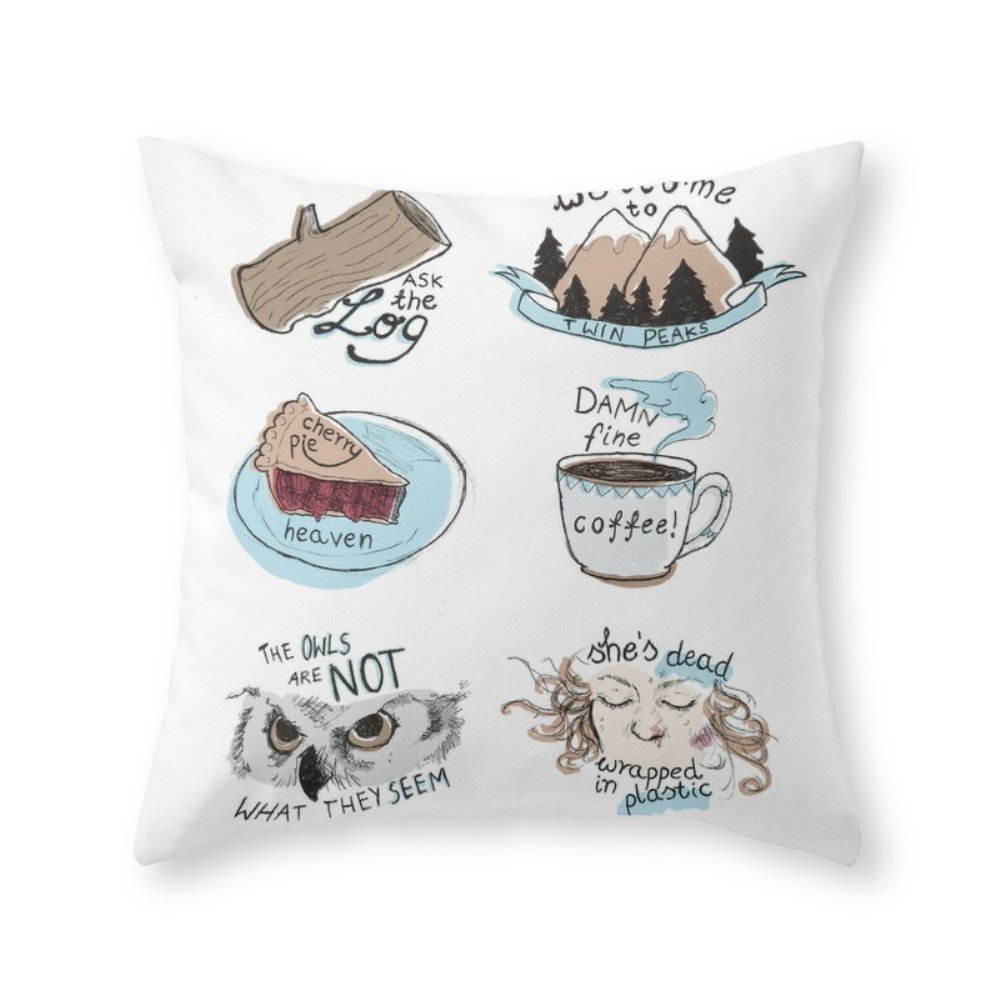 Twin Peaks Society6 Pillow