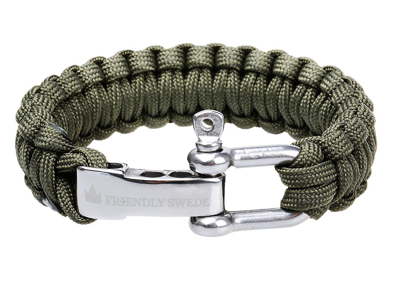 The Friendly Swede Paracord Bracelet
