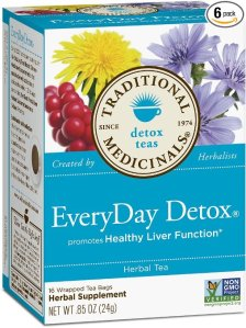 detox tea Traditional Medicinals