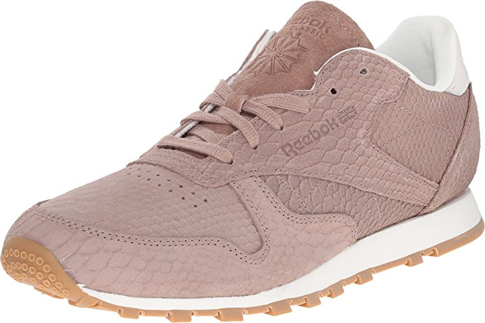 Reebok V68797 Women's Classic Leather Clean Exotics Running Shoes