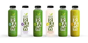 juice cleanse juice from the raw