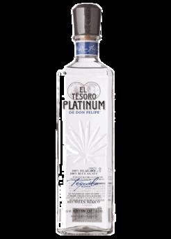 el tesoro silver platinum tequila