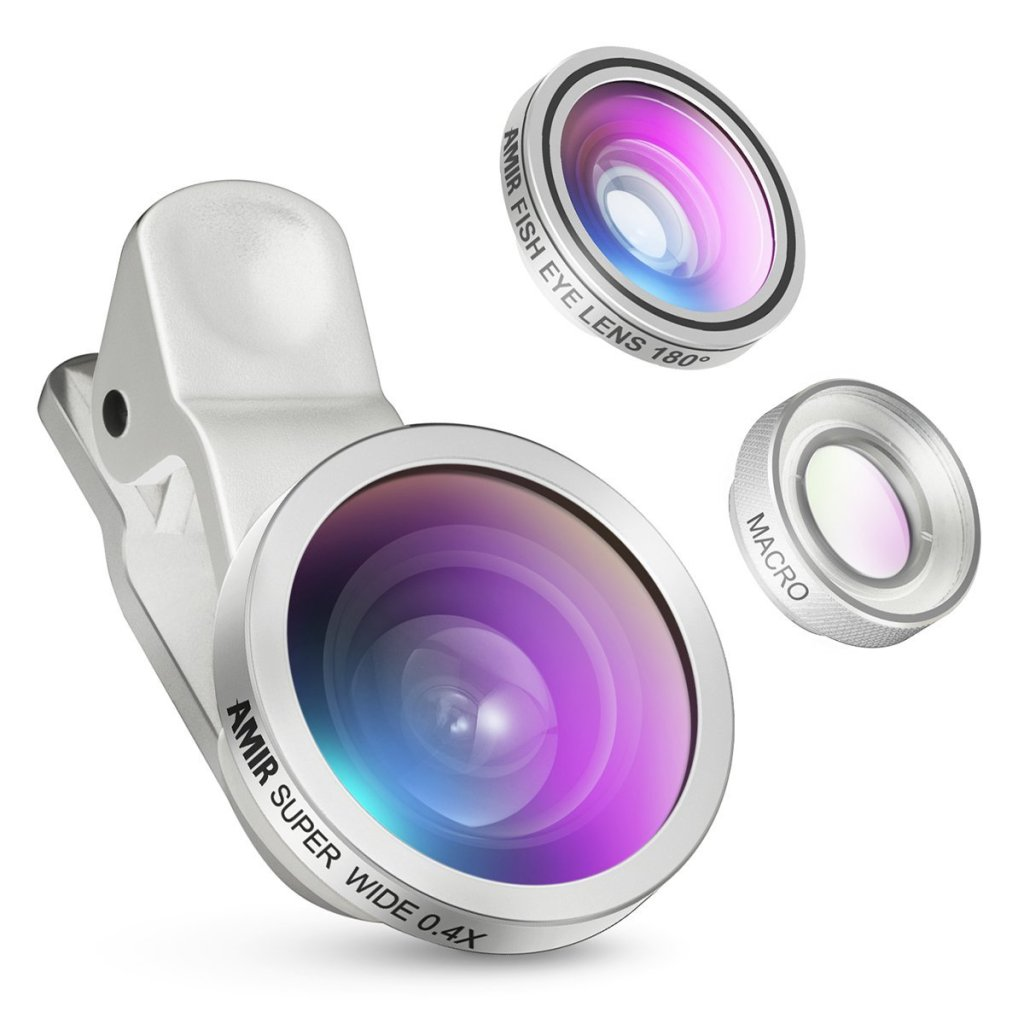 Amir Fisheye Smartphone Lens