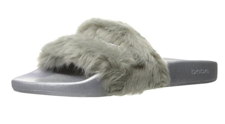 Fur Slide Shoes Bebe