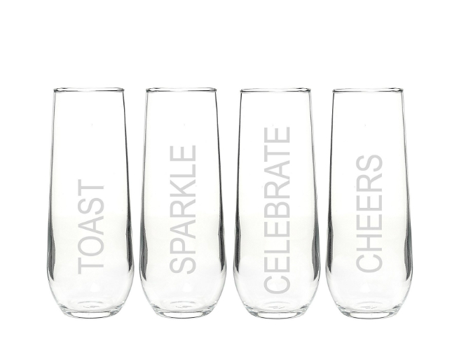 SPY Guide: 6 Stemless Champagne Glasses