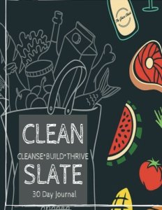 juicing journal cleanse detox Amazon clean slate