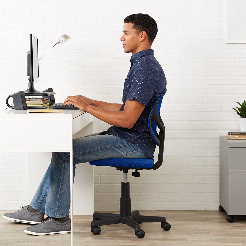 computer chair amazonbasics