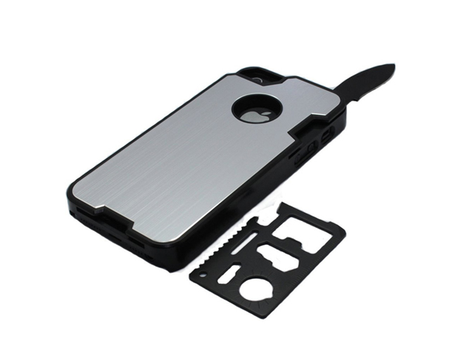 Camping iPhone Case Stainless Steel