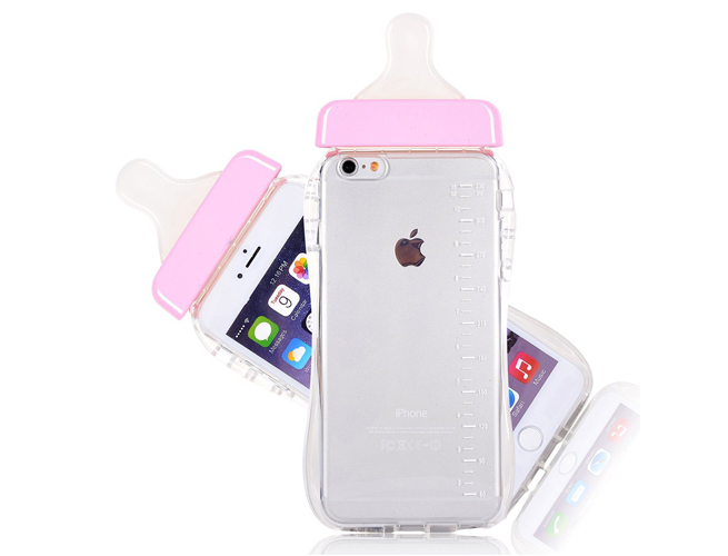 Silicone Baby Pacifier iPhone Case