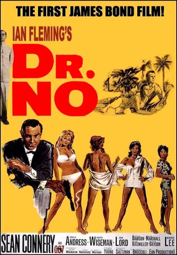 james bond sean connery dr. no