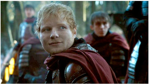 Ed Sheeran Concert Tickets Game of Thrones