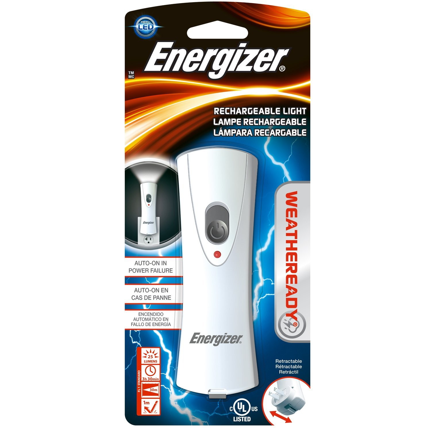 Energizer Weatheready Rechargeable Light