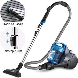best vacuum eureka whirlwind bagless canister