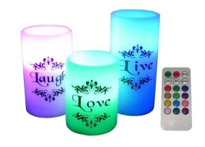 flameless candles easy gift ideas