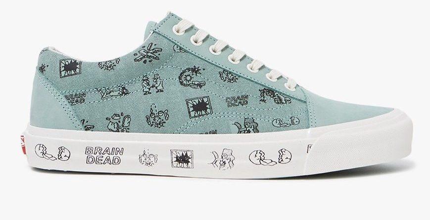 vans sneakers brain dead
