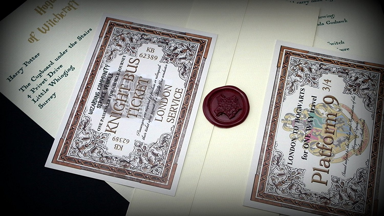 Hogwarts Acceptance Letter from planetsforsale