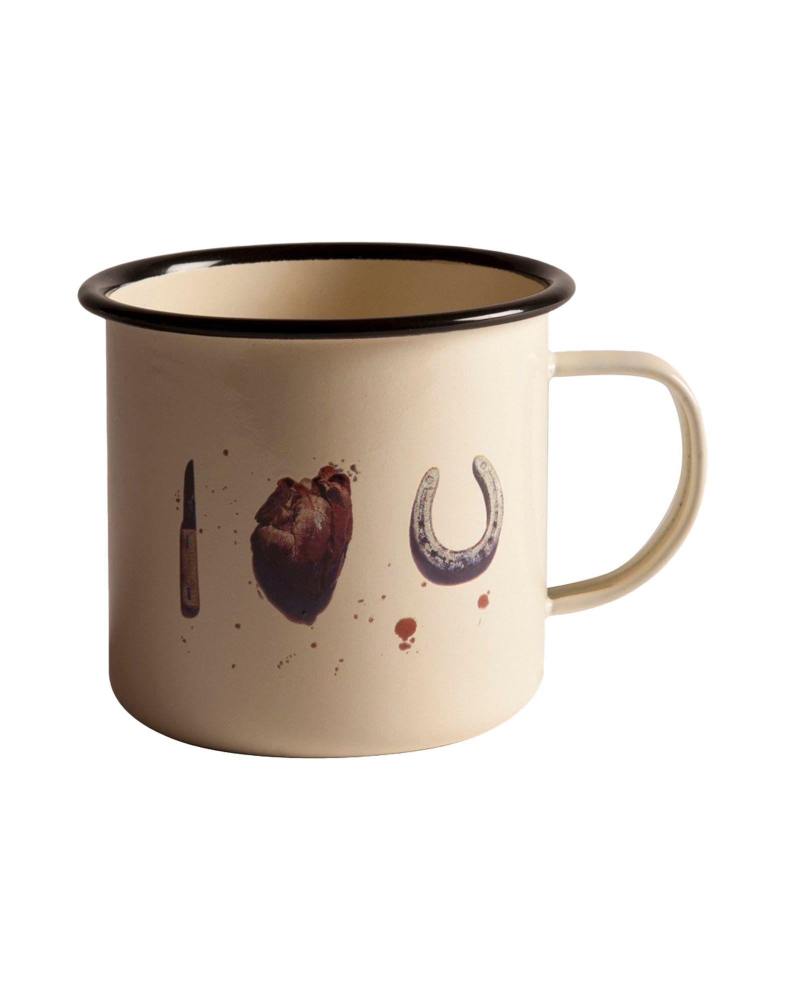 unique dishes Seletti Wears Toiletpaper mugs