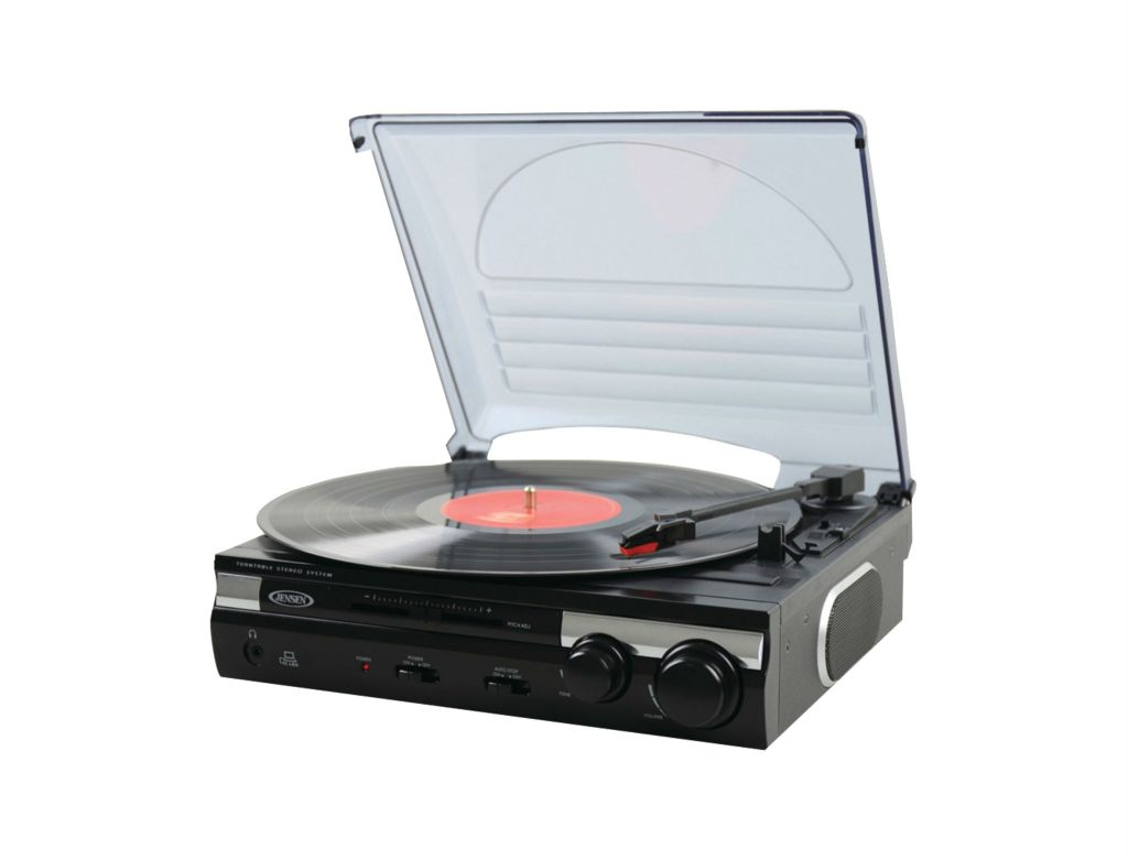 Jensen MP3 turntable