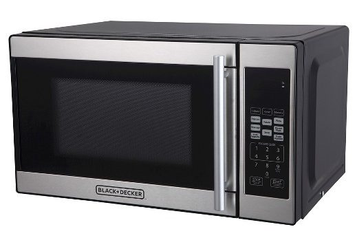 black + decker microwave