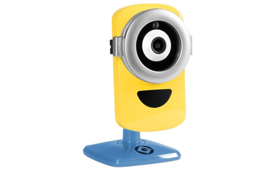hidden camera Minion surveillance wifi