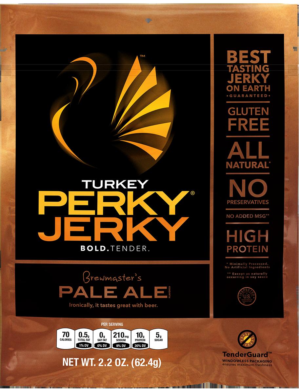Turkey jerky perky jerky
