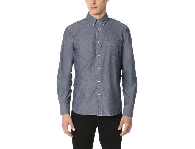 Rag & Bone Standard Issue Chambray Shirt