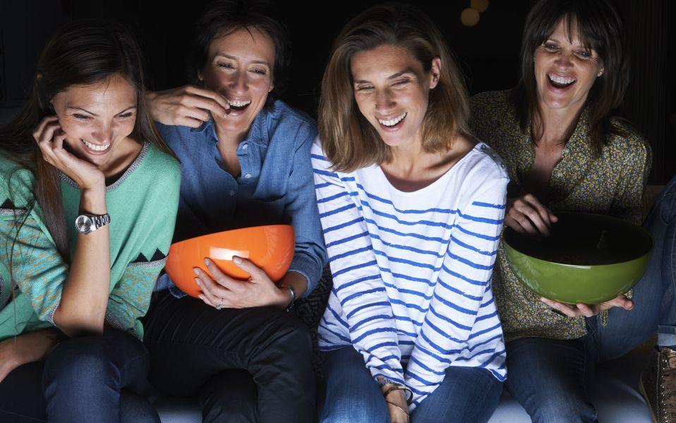 movie watching tv