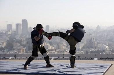 Krav Maga training course in Tel Aviv, Israel - 23 Jan 2017