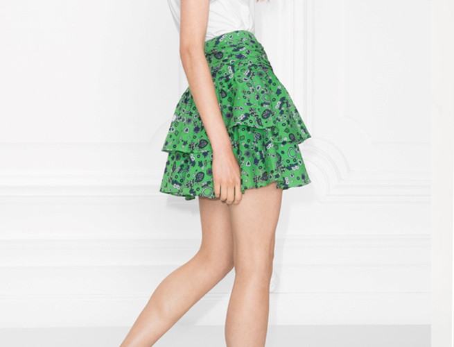 Stories Frill Skirt