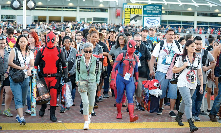 Top 5 Reveals from Comic Con
