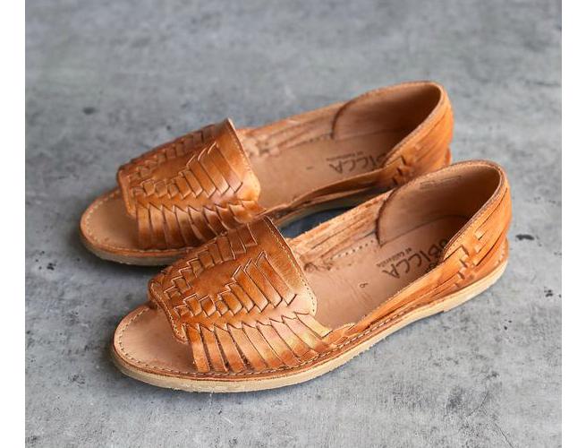 sbicca leather huarache