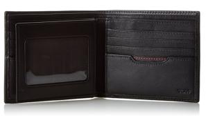 Tumi Passcase Leather Wallet