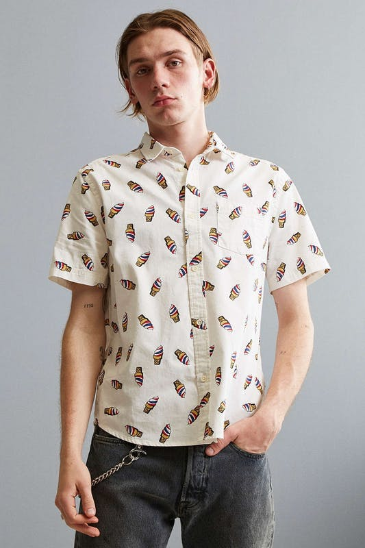 Men's ice cream cone shirt