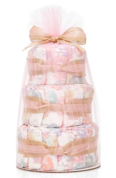 The Honest Company Mini Diaper Cake