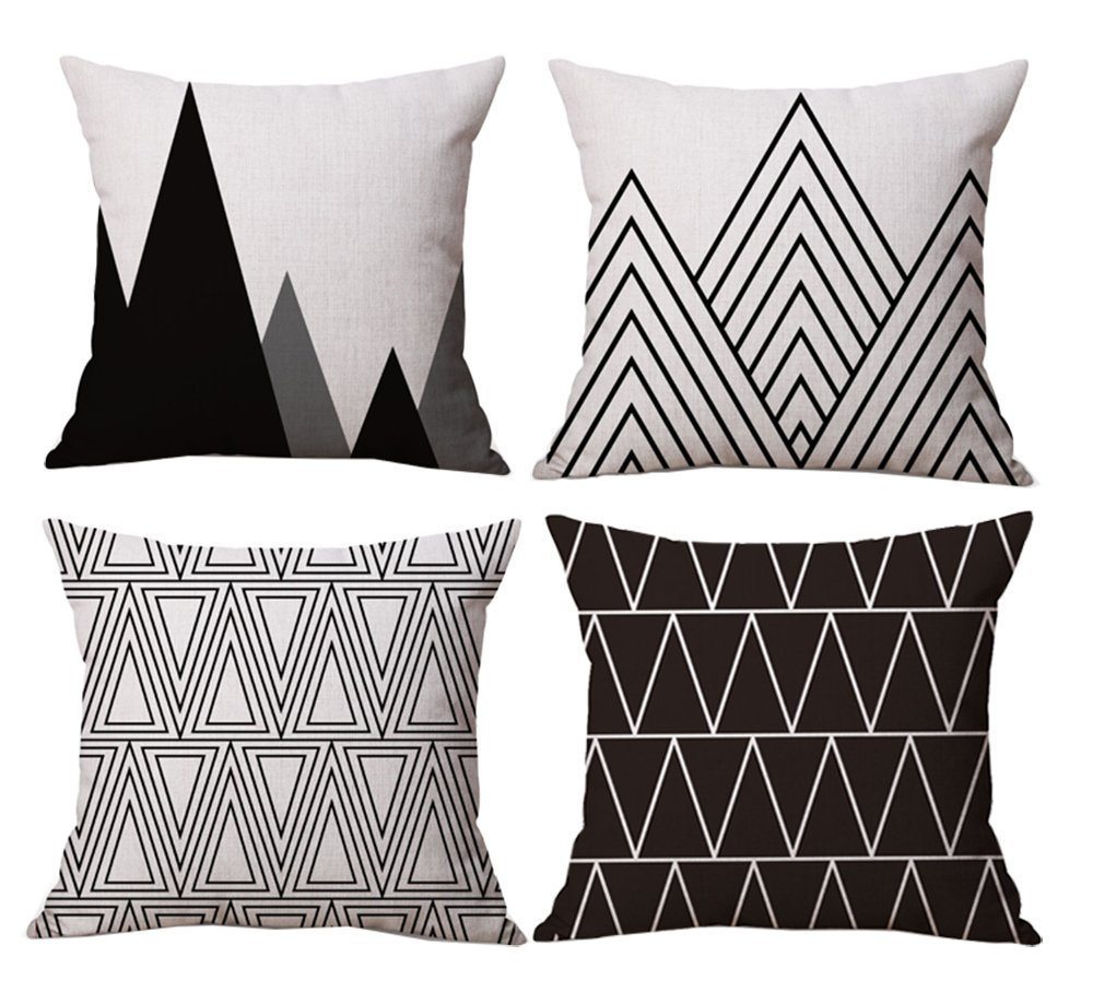 throw pillow covers bluettek