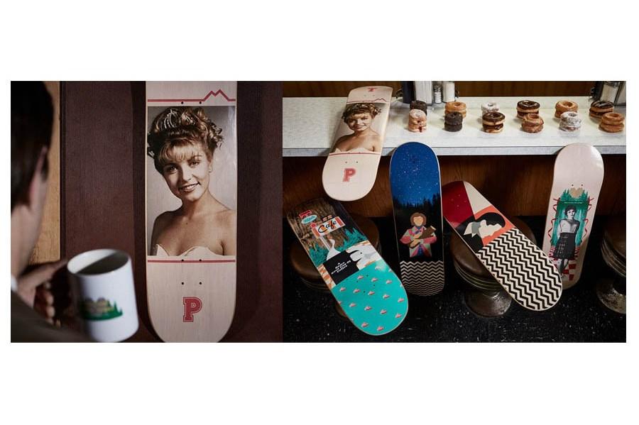 Twin Peaks Skateboard