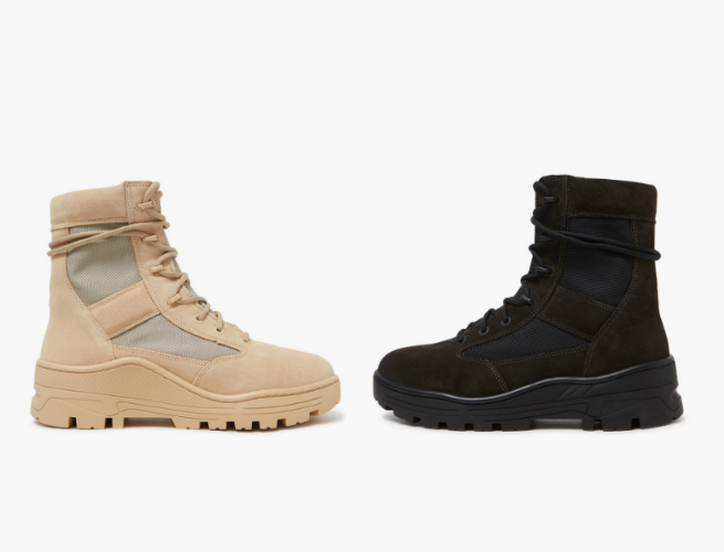 Hora administración Asistente  Yes or No: Would You Wear Kanye's New Yeezy Combat Boots? | SPY